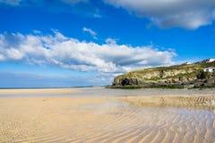 Hayle Towans strand Cornwall Royaltyfri Foto