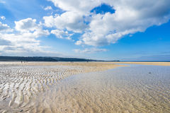Hayle Towans strand Cornwall Royaltyfria Foton