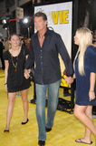 Hayley Hasselhoff, Taylor Hasselhoff, o Simpsons Fotografia de Stock