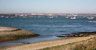hayling的海岛 库存图片