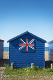 Hayling Island Beach Huts. Beach huts at Hayling Island, Sussex, UK Royalty Free Stock Photos