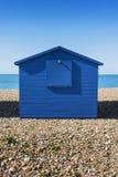 Hayling Island Beach Huts. Beach huts at Hayling Island, Sussex, UK Stock Photos