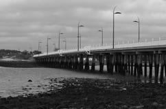 Hayling wyspy most Obrazy Royalty Free