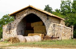 Hayloft in Catalonia, Spain Royalty Free Stock Photography