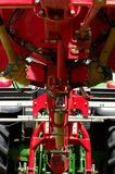 Haymaker machine detail Stock Images