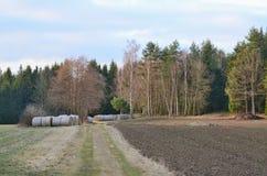 Haymaking, hay storage, Niederösterreich, Austria Royalty Free Stock Photos
