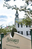 Haymarket弗吉尼亚标志 免版税库存照片