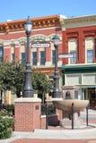 Haymarket District-Council Bluffs, Iowa Stock Images