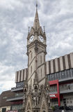 Haymarket Memorial Clock Tower Leicester England Royalty Free Stock Photo