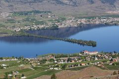 Hayne's Point Provincial Park, Osoyoos, BC. Stock Image