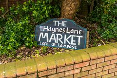 Haynes αγορά παρόδων Στοκ Εικόνα