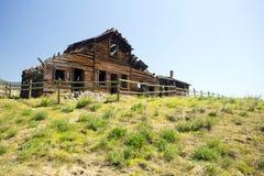 Haynes Ranch House Osoyoos Okanagan-Tal stockbilder