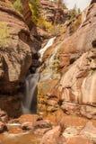 Hays Creek Falls Colorado. Scenic hays creek falls Colorado in autumn Royalty Free Stock Photos