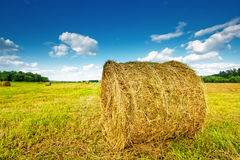 Haystack assembled Royalty Free Stock Photography