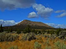 Haystack Butte. Near Culver, OR - Crooked River National Grassland stock photos