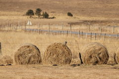 Haystack in capcir, Pyrenees. Languedoc region of france stock photos