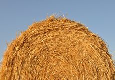 Haystack detail Stock Photography