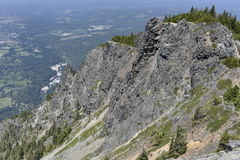 Haystack góra Si, usa Fotografia Stock