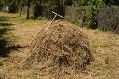 Haystack i racker Obraz Stock