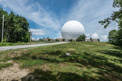Haystack Observatory of Massachusetts Institute of Technology Stock Image