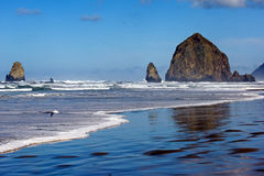 Haystack rock Stock Photos