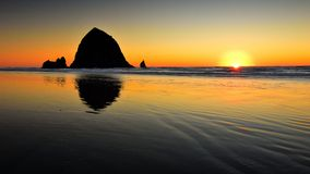 Haystack Rock Stock Images