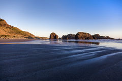 Haystack rock formations Stock Images