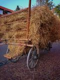 Haystack Royalty Free Stock Photography