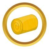 Haystack vector icon Royalty Free Stock Image