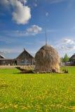 haystack wioska Zdjęcie Royalty Free