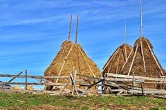 haystacks foto de stock