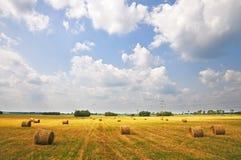 Free Haystacks At Sunset. Stock Photography - 23118202