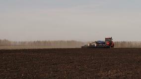 Haystacks in the fields stock video
