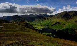 Haystacks, High Crag and High Stile above Buttermere Stock Photo