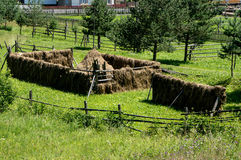 Haystacks Stock Photography
