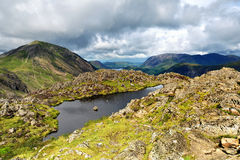 Haystacks to High Crag Royalty Free Stock Photo