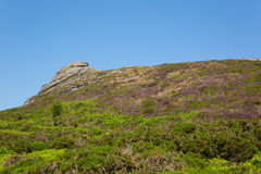 Haytor Dartmoor National Park Devon England UK Royalty Free Stock Photography