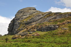 Haytor Rock Royalty Free Stock Photography