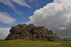 Haytor Rock Royalty Free Stock Photos