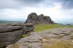 Haytor Rocks Stock Image