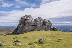 Haytor Rocks Royalty Free Stock Images