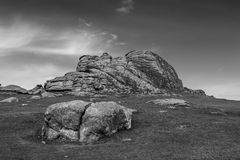 Haytor Rocks Stock Photo