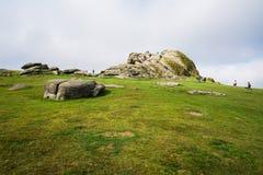 Haytor Rocks In Dartmoor, Devon, UK Royalty Free Stock Photography