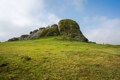 Haytor Rocks In Dartmoor, Devon, UK Stock Photography