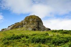 Haytor vaggar, Dartmoor & x28; 3& x29; Royaltyfria Foton