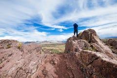 Hayu迈卡、神奇stargate和独特的岩层n 库存照片