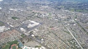 Hayward California From The Air royalty-vrije stock fotografie