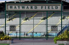 Hayward Field Royalty Free Stock Photo