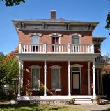 Hayward-heuvel Huis Stock Foto