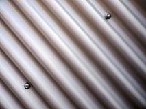 Haz del metal con los tornillos Imagen de archivo libre de regalías